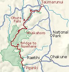 Kiwi wiki Trips 20070120 Whanganui River Itinerary