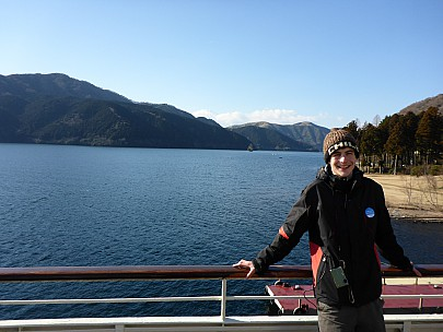 2016-03-02 15.07.26 P1000832 Simon - Adrain on board and Lake Ashinoko north.jpeg: 4608x3456, 6103k (2016 Mar 02 02:07)
