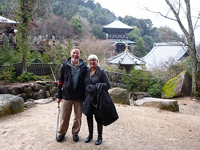 2017-01-21 16.06.03 P1010620 Simon - with Anne outside Daisho-in temple.jpeg: 4608x3456, 6357k (2017 Jan 28 21:22)